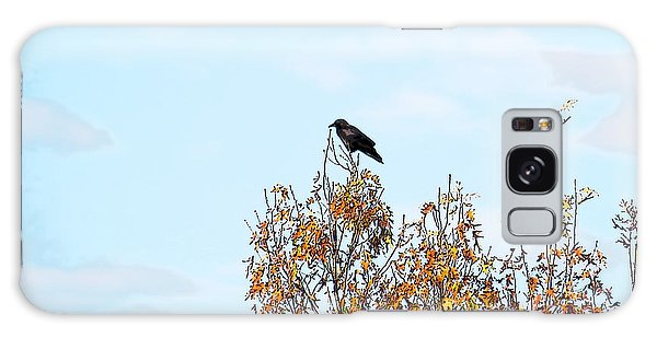 Bird On Tree Galaxy Case