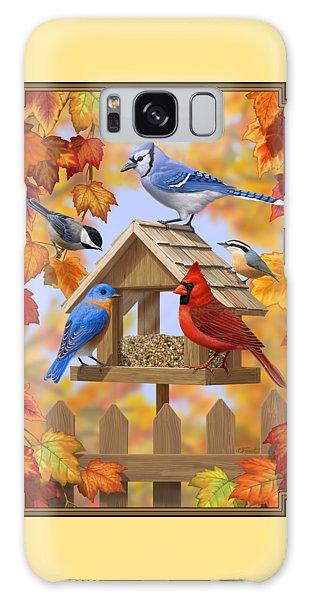 Bluebird Galaxy S8 Case - Bird Painting - Autumn Aquaintances by Crista Forest