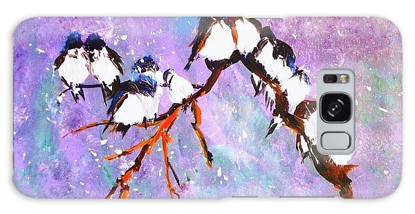 Bird Snowfall Limited Edition Print 1-25 Galaxy Case