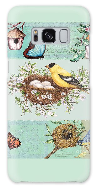 Birds And Bees Galaxy Case