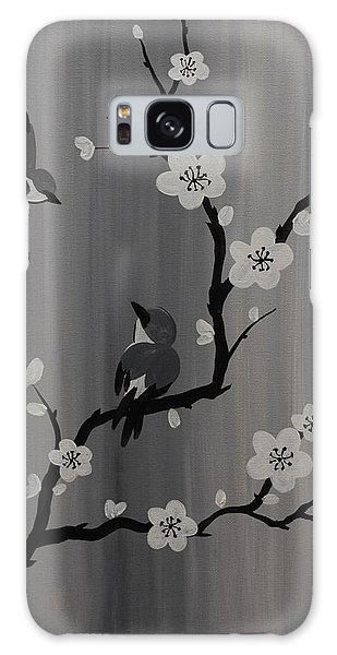 Birds And Blossoms Galaxy Case