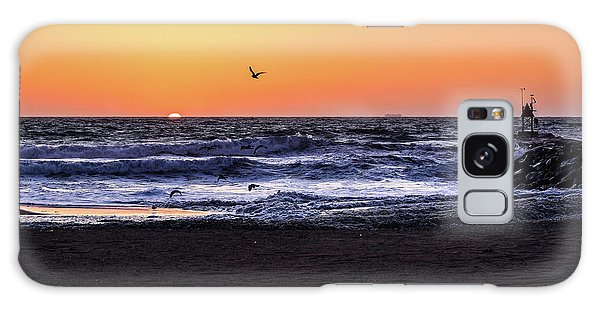Birds At Sunrise Galaxy Case