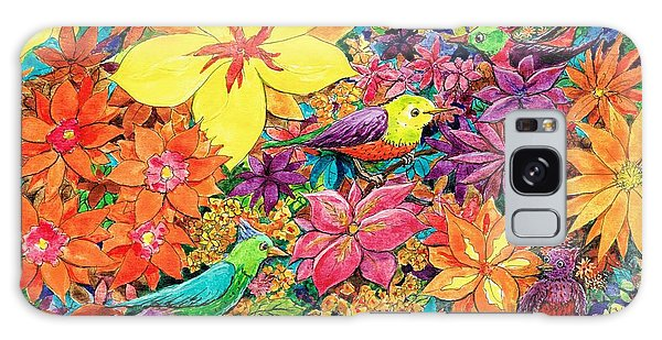 Birds In Paradise Galaxy Case by Charles Cater