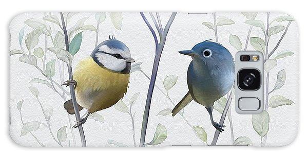 Birds In Tree Galaxy Case by Ivana