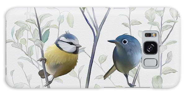 Birds In Tree Galaxy Case