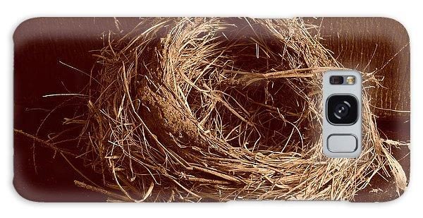 Bird's Nest Sepia Galaxy Case