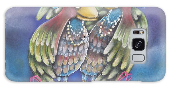 Birds Of A Feather Stick Together Galaxy Case