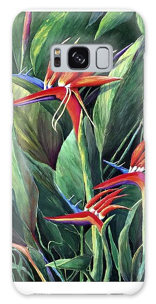 Birds Of Paradise Galaxy Case