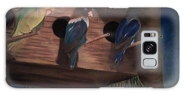 Birds Resting Galaxy Case