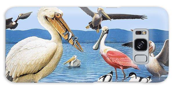 Birds With Strange Beaks Galaxy S8 Case