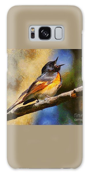 Birdsong Galaxy Case by Elizabeth Coats
