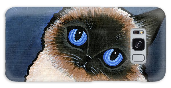 Birman Blue Night Galaxy Case