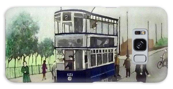 Birmingham Tram With Figures Galaxy Case