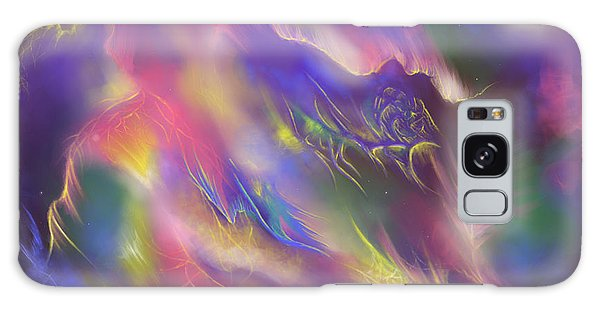 Galaxy Case featuring the digital art Birth Of The Phoenix by Amyla Silverflame