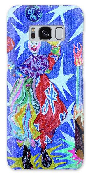 Birthday Clown Galaxy Case