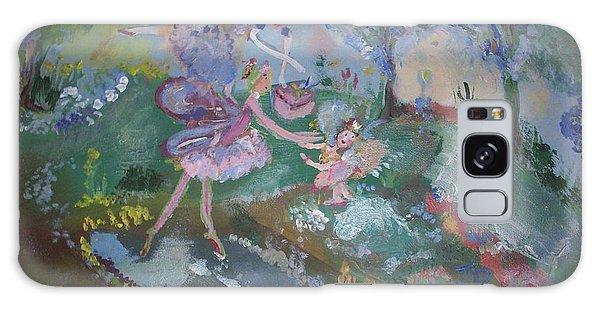 Birthday Fairy Galaxy Case by Judith Desrosiers