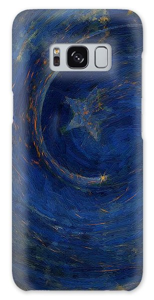 Birthed In Stars Galaxy Case