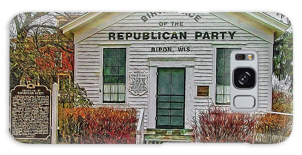 Birthplace Republican Party Galaxy Case by Trey Foerster