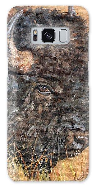 Bison Galaxy Case by David Stribbling