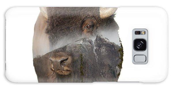 Bison Mountain  Galaxy Case