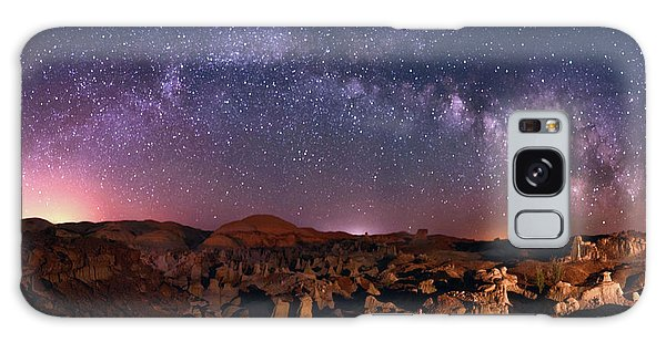 Bisti Badlands Night Sky - 2 Galaxy Case