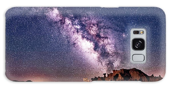 Bisti Badlands Night Sky Galaxy Case