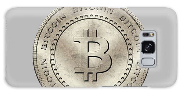 Bitcoin Symbol Hodl Quote Typography Galaxy Case