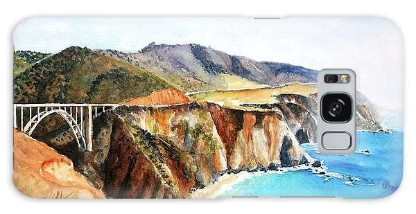 Bixby Bridge Big Sur Coast California Galaxy Case