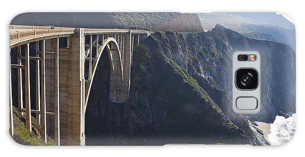 Chasm Galaxy Case - Bixby Bridge Crossing A Chasm by David Buffington