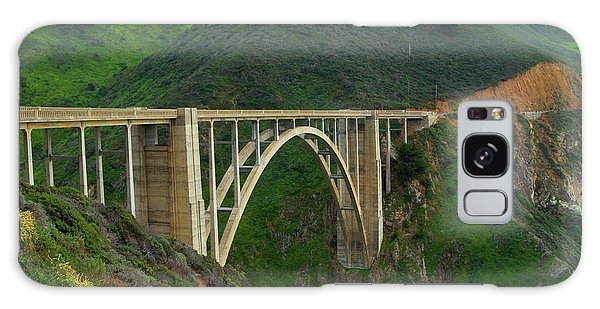 Bixby Bridge In Big Sur Galaxy Case