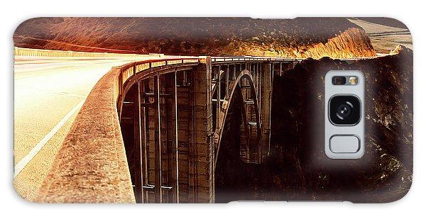 Bixby Creek Bridge, California Galaxy Case