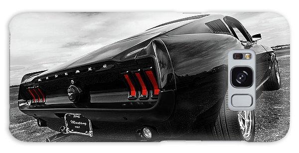 Black 1967 Mustang Galaxy Case by Gill Billington
