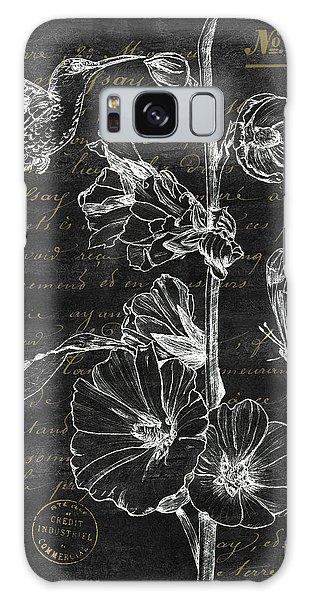 Hummingbird Galaxy S8 Case - Black And Gold Hummingbirds 2 by Debbie DeWitt