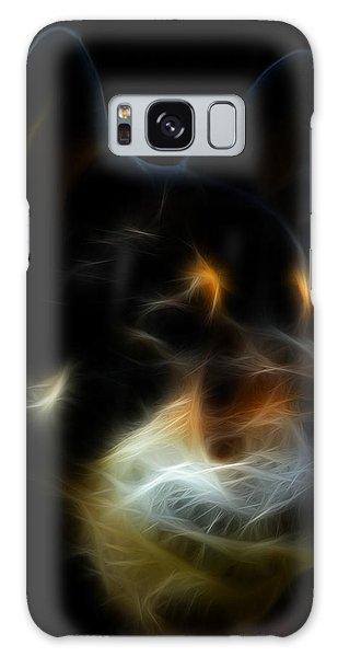 Black And Tan Shiba Inu Galaxy Case by Stuart Turnbull