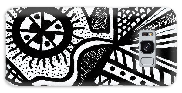 Black And White 14 Galaxy Case