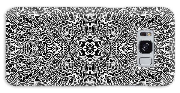 Galaxy Case featuring the digital art Black And  White 24 by Robert Thalmeier