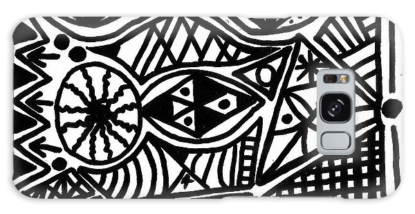 Black And White 4 Galaxy Case