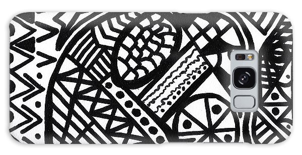 Black And White 5 Galaxy Case