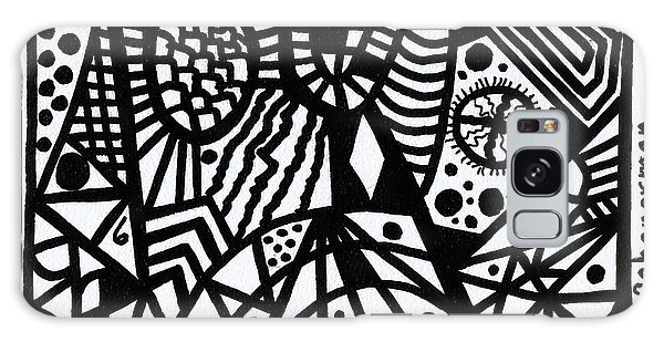 Black And White 6 Galaxy Case