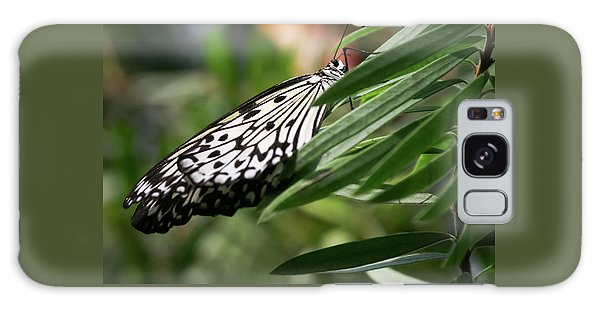 Black And White Butterfly -  Galaxy Case