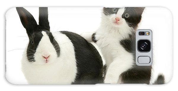 Black And White Double Act Galaxy Case