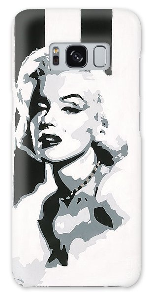 Black And White Marilyn Galaxy Case
