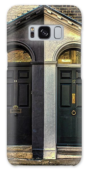 Door Galaxy Case - Black And White by Martin Newman