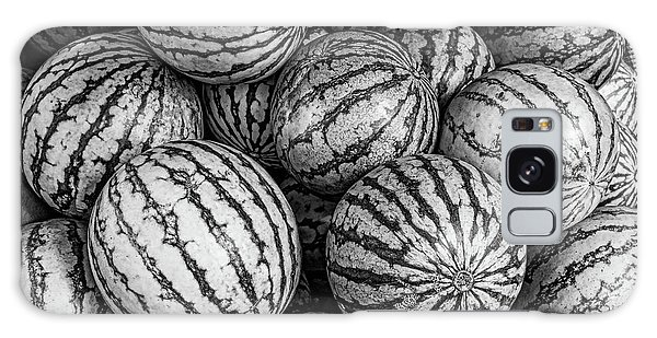 Black And White Mellons Galaxy Case