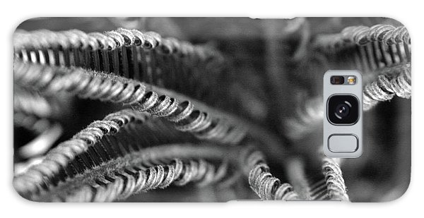 Black And White Palm Abstract 3624 Bw_2 Galaxy Case