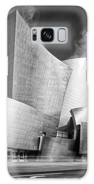 Walt Disney Concert Hall Galaxy Case - Black And White Rendition Of The Walt Disney Concert Hall - Downtown Los Angeles California by Silvio Ligutti