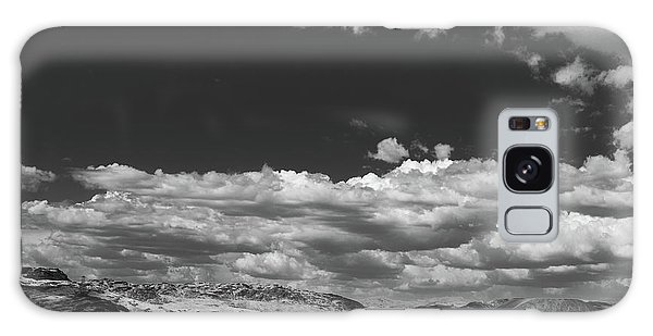 Black And White Small Town  Galaxy Case by Jingjits Photography
