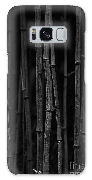 Black Bamboo Galaxy Case