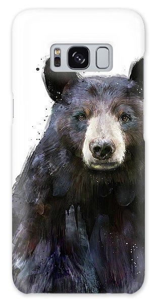 Wild Animals Galaxy Case - Black Bear by Amy Hamilton