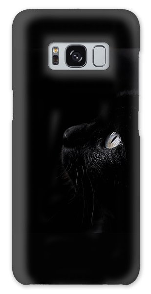 Black Beauty Galaxy Case by Laura Melis